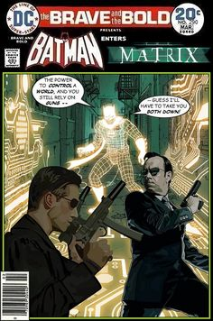 Super-Team Family: The Lost Issues!: Batman and The Matrix