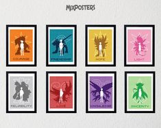 High quality graphic prints by MixPosters on Etsy Decorate Your Room, Minimalist Poster, Digimon, Graphic Prints, Wall Art Prints, Art Pieces, Gallery Wall, Posters, Inspired