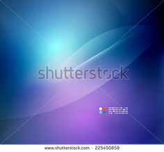 Blue blurred colors business or technology abstract background