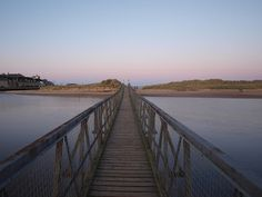 Bridge to the East Beach, Lossiemouth, Moray