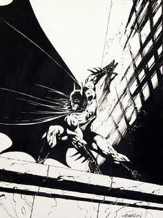Wrightson Batman pinup, in Andy Robbins's Batman and other Gotham residents Comic Art Gallery Room I Am Batman, Batman Art, Batman Robin, Marvel Dc Comics, Batman Poster, Batman Arkham, Comic Book Artists, Comic Book Characters, Comic Artist