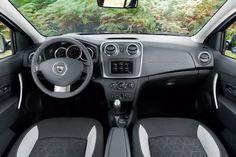 Interni di Dacia Sandero Stepway Vehicles, Romania, Models, Cars, Interior, Dacia Sandero, Templates, Indoor, Autos
