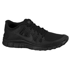 Ugh. These aren't the ones, but I saw some nice women's Nike running sneaks at Champs and now I can't find them anywhere! (Black on Black Nike Free - Men)