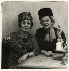 Two ladies at the automat, N.Y.C., 1966 / by Diane Arbus