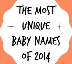 Still on the hunt for the perfect baby name? How about one of these unique choices for boys and girls from the year's most popular names?