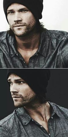 Jared Padalecki - the only guy who looks good in a beanie. And not just good, but amazing!