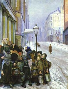 Struggle for Existence by Christian Krohg