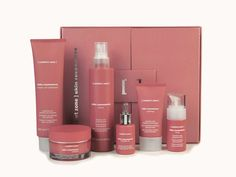 Skin Resonance Sensitive Skin Care line by [ comfort zone ] helps cleanse and renew reactive skin gently, while combating redness and sensitivity.