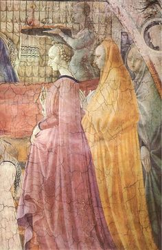 Birth of the Virgin (detail) by UCCELLO, Paolo #art  www.artexperiencenyc.com