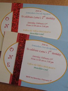 The cutest invitations ever! I need to throw a party just to use these!