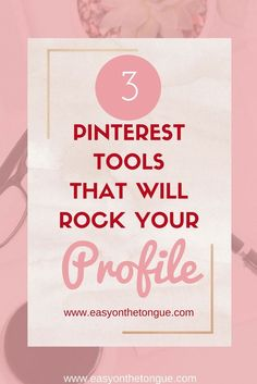 Making your Pinterest world easier and quicker? Here are 3 tools that could just do that. Click through to read the post and grab a freebie with Pinterest info too! - more on asyonthetongue.com/3-free-pinterest-tools-will-rock-profile