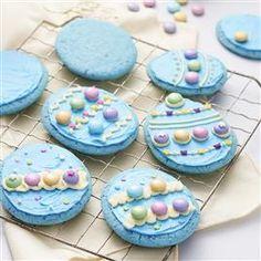 Robin Egg Cookies