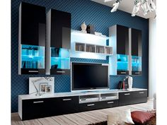 Montreal ABW 2 - Modern Wall Units - LIVING ROOM Furnish House