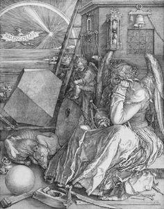 Albrecht Dürer - Mélancolie
