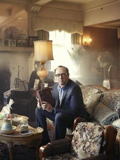 cool portraits of Kevin Spacey by John Russo