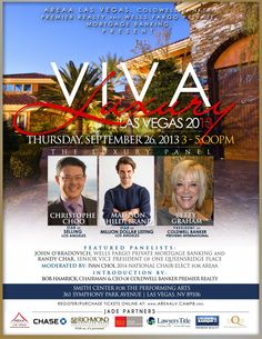 Christophe Choo to Speak with Madison Hildebrand & Betty Graham at AREAA Viva Luxury Las Vegas 9/26