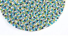 Size 90 cm to 200 cm Multi-colored  Round Pom Pom Felt Ball