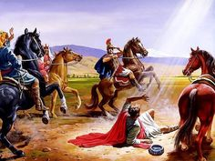 Saul Of Tarsus On The Road To Damascus Paul