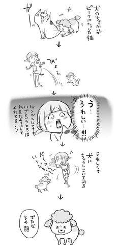 Anime Characters, Fictional Characters, Mammals, Dog Cat, Japan, Manga, Humor, Comics, Pets