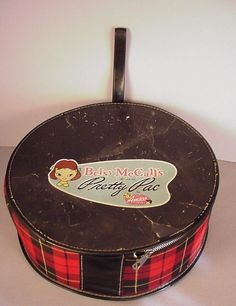Vintage Betsy McCall Doll Carry Case Pretty Pac