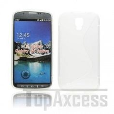Coque Arrière en Gel Silicone Transparent pour Samsung I9295 Galaxy S4 Active
