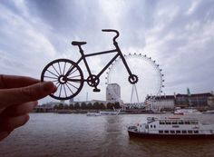 Idea is bigger than gear: photographer uses paper cutouts to transform famous landmarks - DIY Photography