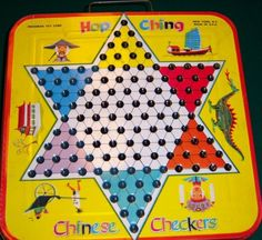 Chinese Checkers. This was probably one of my favorite games to play! I need to find one again!