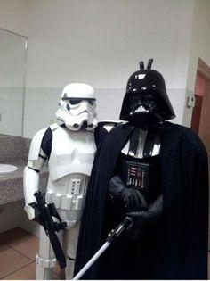 Mocking Darth Vader? Don't think that's a good idea…