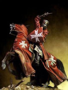 Crusader Knight, Knight Armor, Knights Hospitaller, Knights Templar, Medieval Knight, Medieval Fantasy, Medieval Tattoo, Knight Tattoo, Christian Warrior