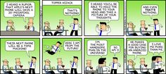 Humor: Dilbert makes the case for choosing Android over the iPhone
