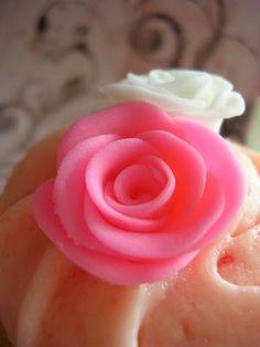 Fondant Roses DIY