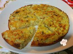 Cozinhando sem Glúten: Torta de arroz integral e legumes de frigideira