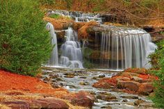 Vestavia Hills waterfalls, Ala. City Of Birmingham, Birmingham Alabama, Big And Beautiful, Beautiful World, Vestavia Hills, Travel Scrapbook Pages, The Great Escape, Sweet Home Alabama, Fairy Land