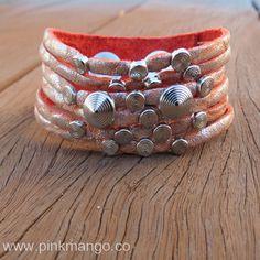 Orange Studs Bracelet Find it @ Pinkmango.co