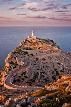 Faro de Formentor, Mallorca-by Vaidas M