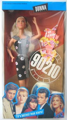 90210 Doll - Donna. I had all of them and the Peach Pit Diner, lol