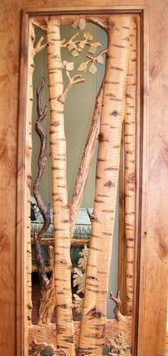 Ashbee Design: Architecture - carved door