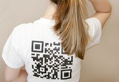 I just saw a really cool gig on Fiverr! Generate a QR code from any website, phone number or text message, then create an iron-on transfer to place on a tee shirt!