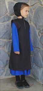 Girls Traditional Old Order Amish Mennonite Dress