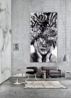The Latest Décor Trend: 31 Large Scale Wall Art Ideas | DigsDigs