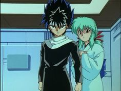 Hiei & Yukina