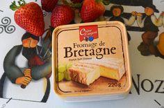 Queso graso (50% M.G.) elaborado con leche pasteurizada de vaca, producido por la Société Fromagère de Retiers, en la región francesa de Bretaña, departamento de Ille y Vilaine.