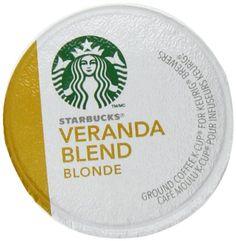 Starbucks Coffee, Veranda Blend Blonde K Cup Portion Pack for Keurig Brewers, 24 Count - http://www.freeshippingcoffee.com/k-cups/starbucks-coffee-veranda-blend-blonde-k-cup-portion-pack-for-keurig-brewers-24-count/ - #K-Cups