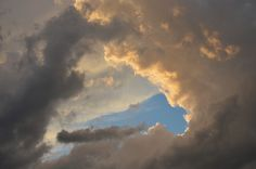 This picture of cloud layers over Miramichi, NB was posted by William M Barnaby on the Weather Network website