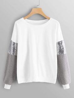 Get comfy now – and never pay too much again! Drop Shoulder Sweater now on mikar… - Pullover Winter Mode Outfits, Winter Fashion Outfits, Hijab Fashion, Girl Fashion, Womens Fashion, Jeans Fashion, Outfit Winter, Cheap Fashion, Dress Winter