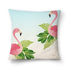 almofada flamingo Flamingo Painting, Flamingo Art, Cute Pillows, Decorative Throw Pillows, Shabby Chic Beach, Fabric Paint Designs, Flamingo Gifts, Cushion Cover Designs, Painted Clothes