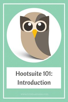 Hootsuite 101: Introduction by HootSuite Ambassador @Vicky Goodwin Outside The Sandbox