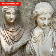It's the details at Aphrodisias that will really amaze you. This amazing ancient city was a leading center of sculpture work and exported commissioned pieces of artwork all over the known world. #TurkeysHiddenGems