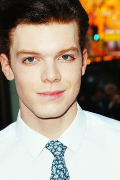Cameron Monaghan at the If I Stay first showing