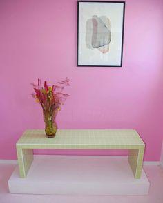 Green Coffee Tables, Tiled Coffee Table, Interior Exterior, Interior Design, Tile Tables, Piece A Vivre, Handmade Tiles, Eclectic Decor, New Room